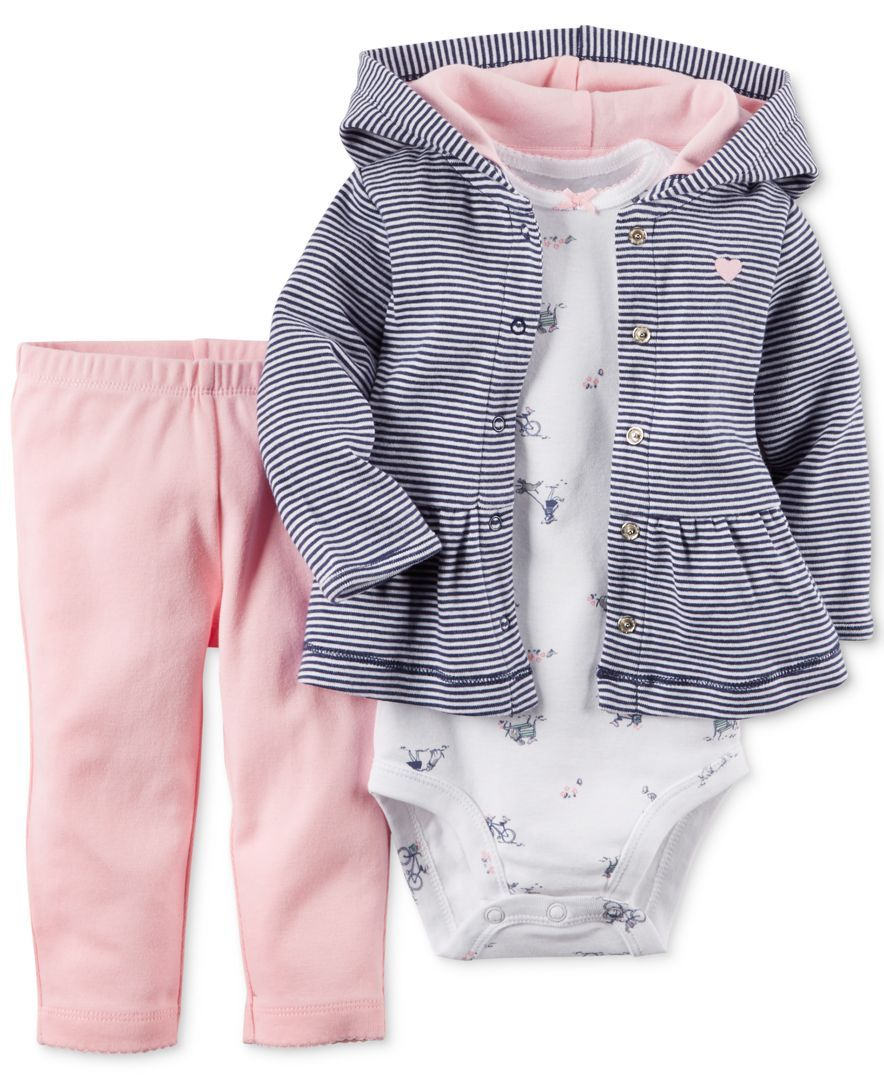 Carter s Baby Girls  3-Piece Cardigan 72ab8035a