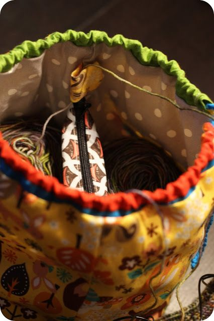 Sock sack by Ramona Rose