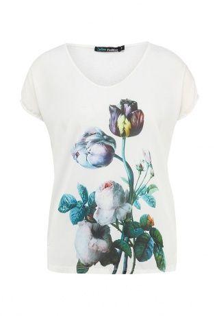 Блуза Befree, цвет: белый. Артикул: BE031EWFHP03