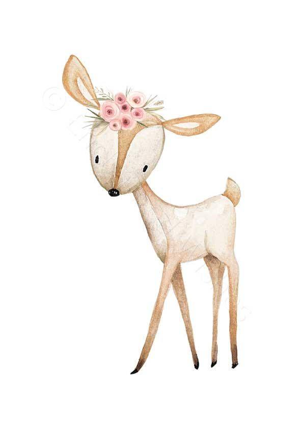 Pink Deer Head Nursery