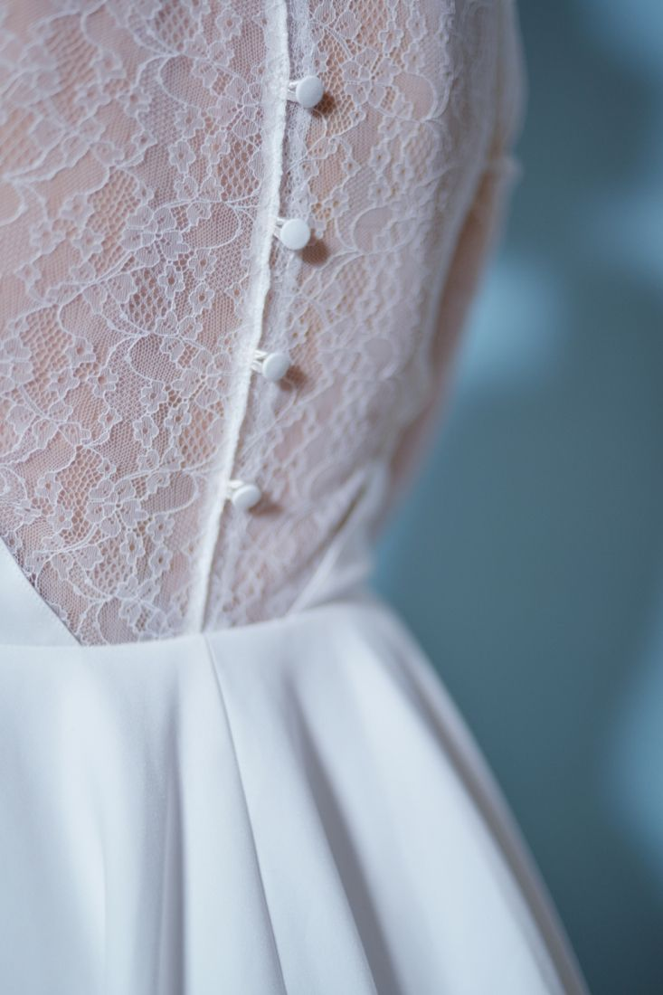 Robe de mariee dos dentelle retro Mademoiselle R La Redoute l La Fiancee du Panda blog mariage