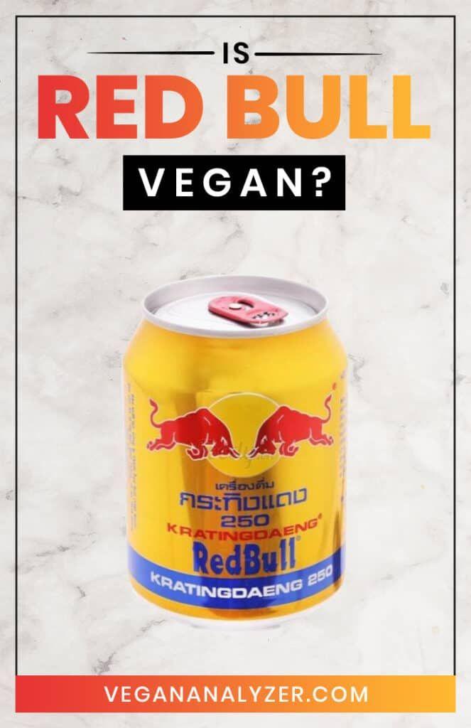 Red Bull Vegan