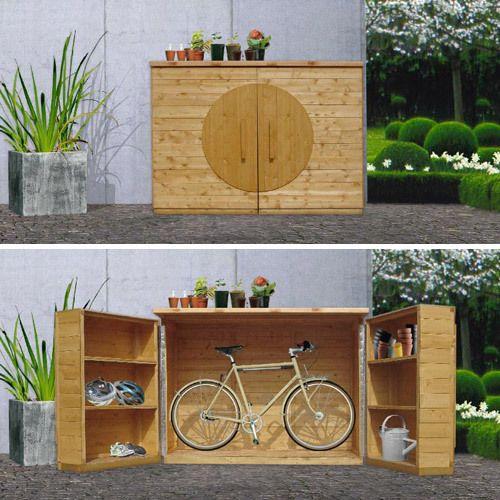 Fahrradschuppen SELBER MACHEN Heimwerkermagazin garden design - outdoor küche selber bauen
