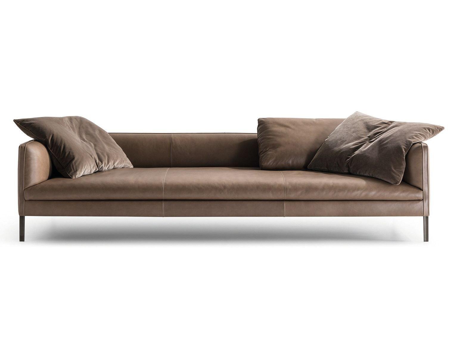 3 seater leather sofa PAUL | Sofa - MOLTENI & C. | Sofas | Pinterest ...