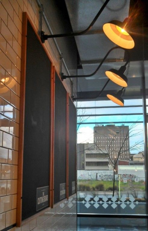 Rustic Goosenecks, Sconces Lend Warehouse Look To Aussie Eatery | Blog |  BarnLightElectric.com