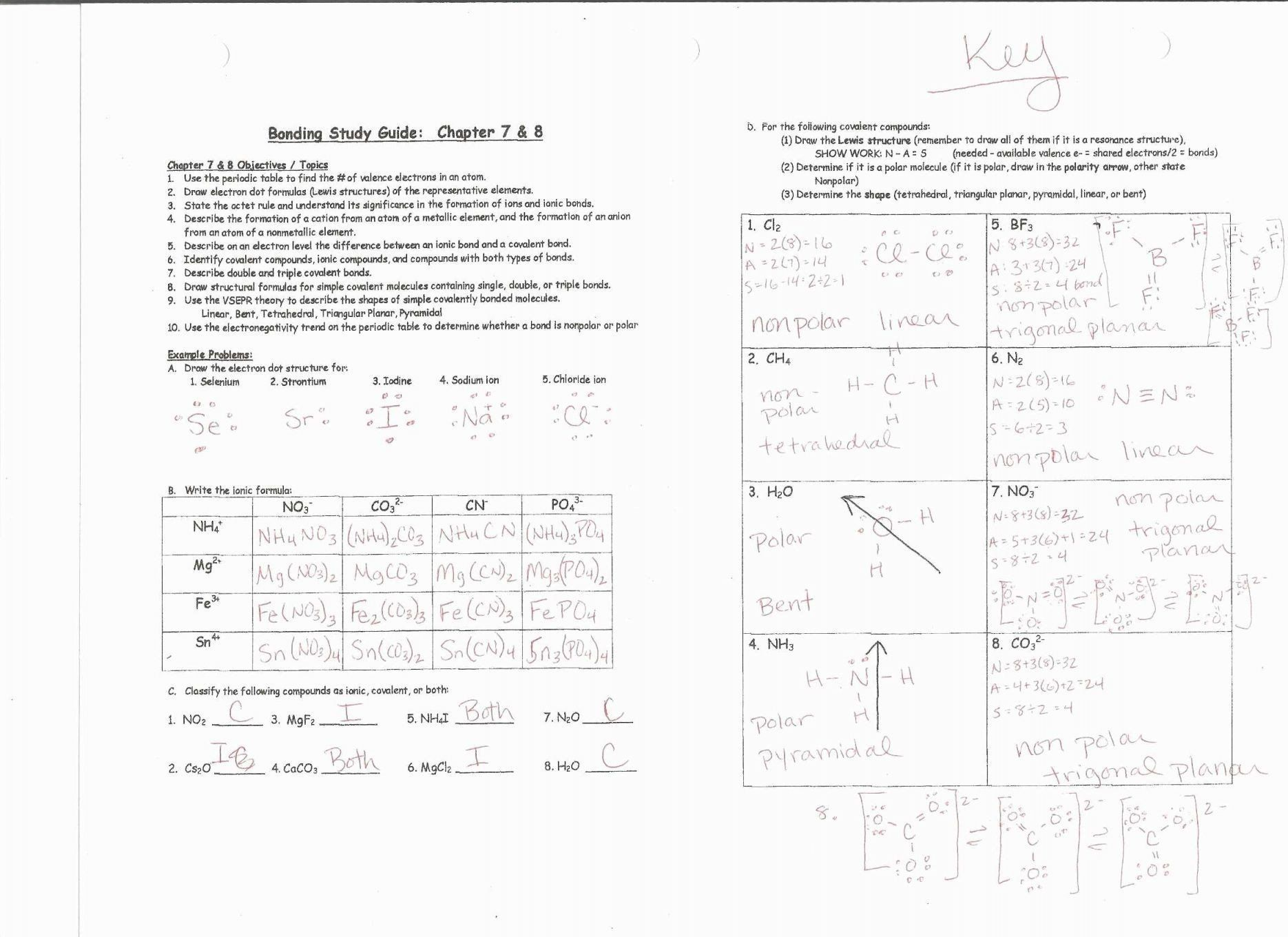 Oxidation Reduction Worksheet Answers Types Reactions