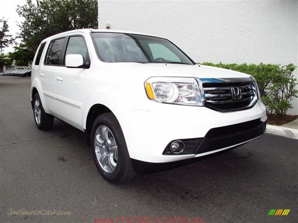 Awesome 2014 honda pilot exl white car images hd 2012 honda pilot ex l in white