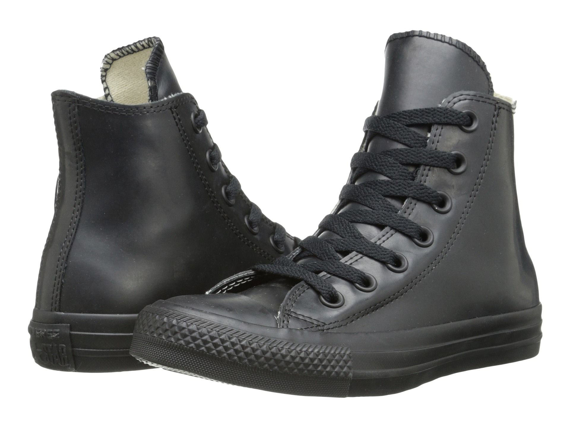 I can't wait to get a pair of these black high top converse rain boots!