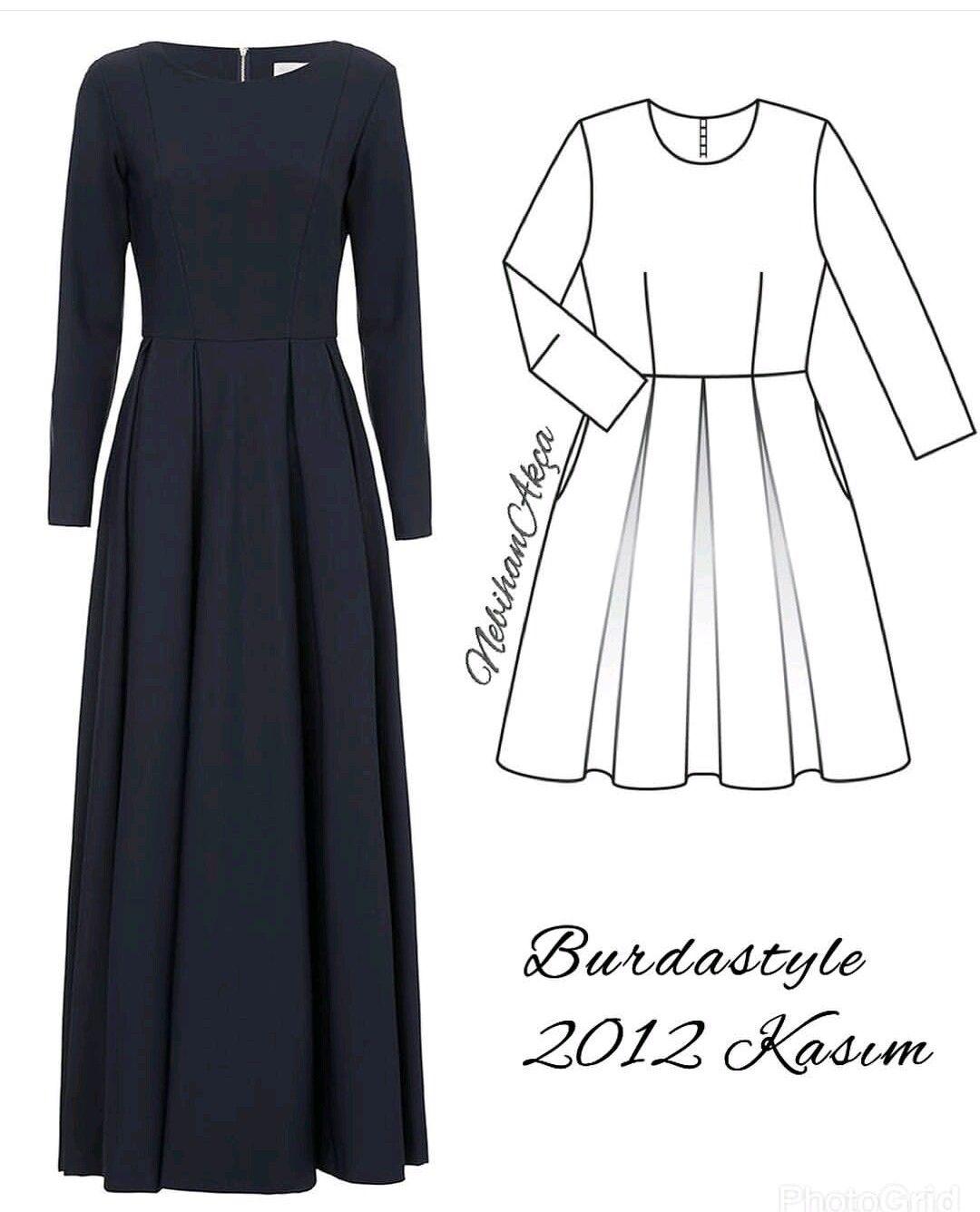 DIY..easy Garments  Model pakaian hijab, Model pakaian, Sketsa