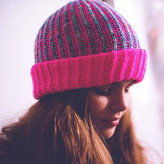 Easy Brioche (Hipster) Hat pattern by Dana Kikic Nemmert ...