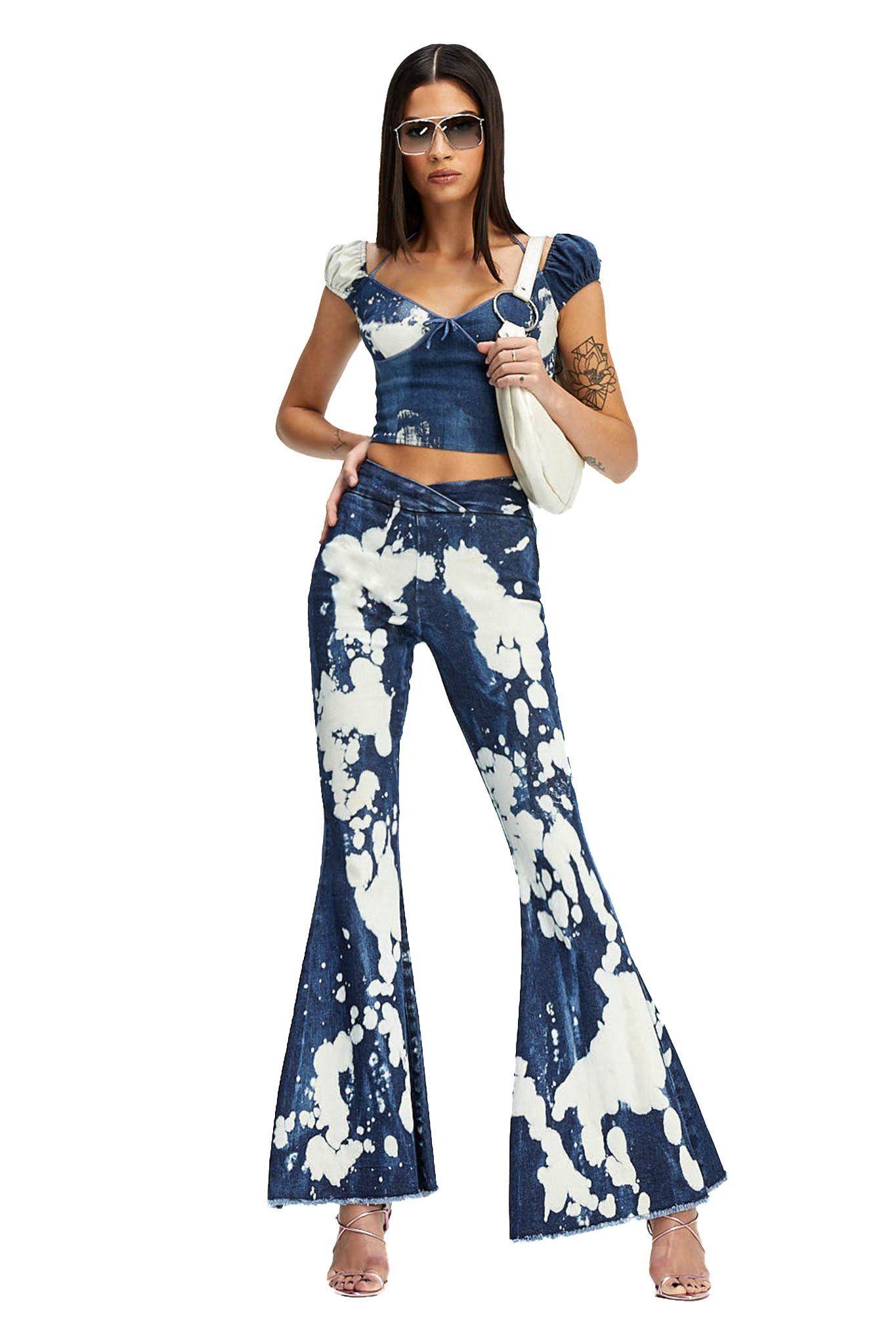 DESPINA TOP in 2021 Fashion inspo outfits, Denim fashion