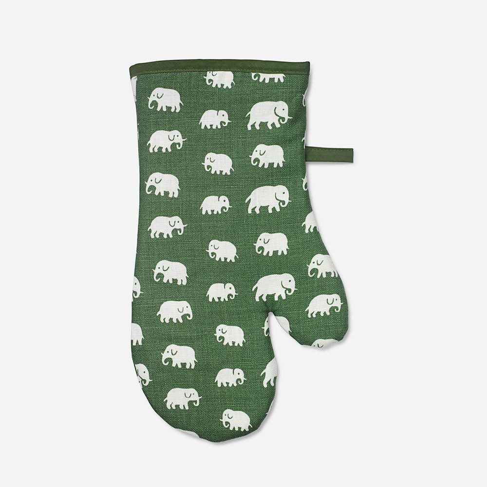 Grytvante Elefant Lin Elefant Gron Estrid Ericson Svenskt Tenn Svenskt Tenn Elefant Gron
