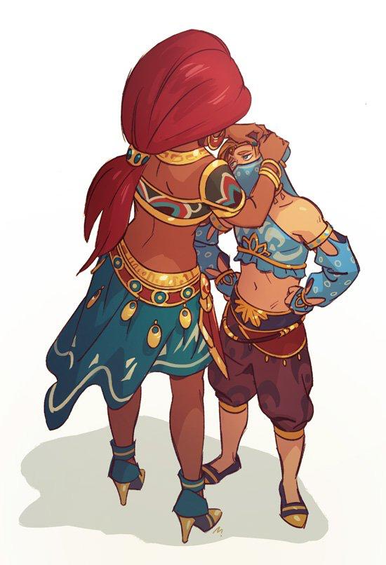 Gerudo Link | Legend of Zelda | Pinterest | Zelda Les lu00e9gendes et Jeux vidu00e9os