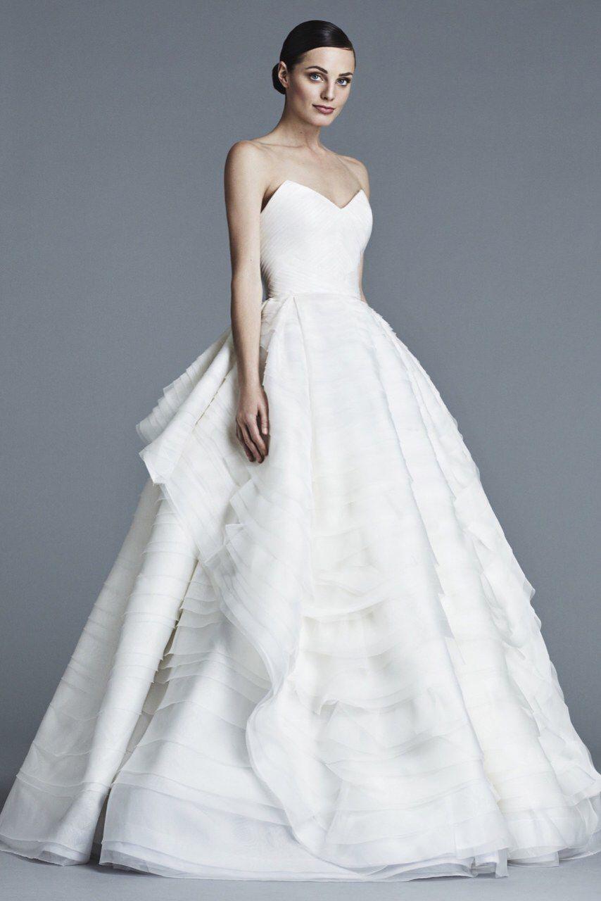 J. Mendel Bridal Spring 2016, Vogue