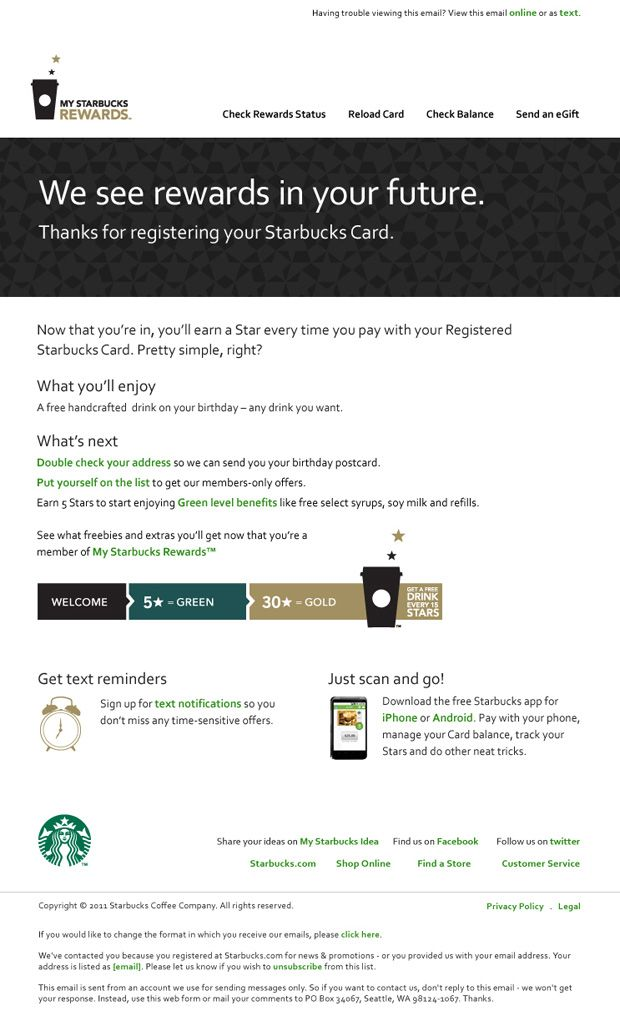 rewards emails - Google Search | Email Template | Pinterest