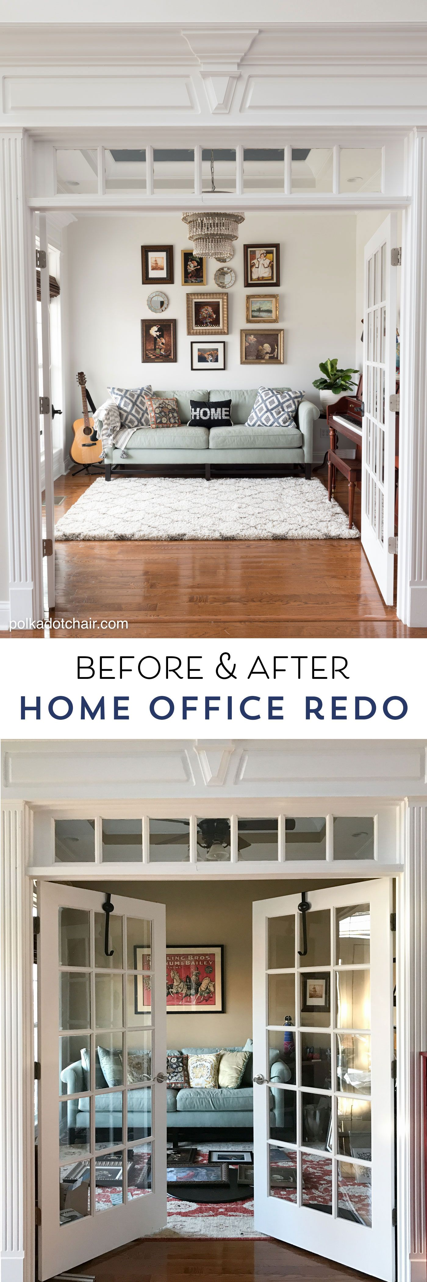 Before u after simple room refresh with lots of diy decorating ideas