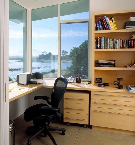built in office furniture space saving built in office furniture in corners 12672