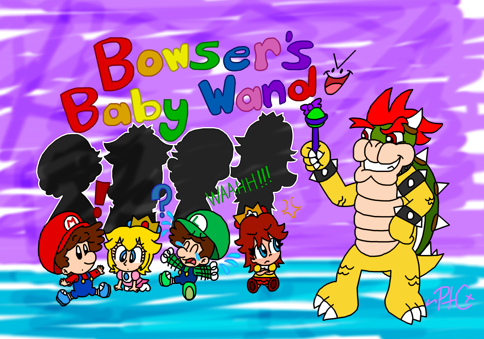 Bowser S Baby Wand By Paratroopacx Deviantart Com On