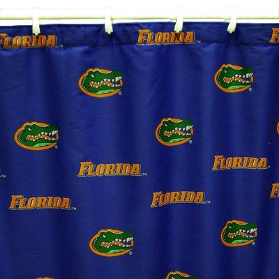 College Covers NCAA Florida Gators Cotton Printed Shower Curtain