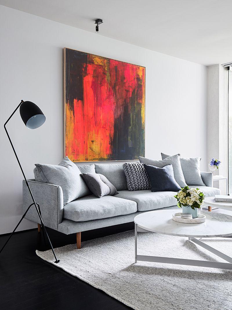 Abstract colourful painting by liesbeth willaert ueueue