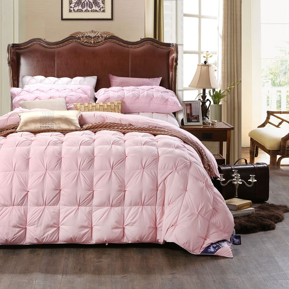 Find More Comforter Information abo1pc 50% pink duck down quilt ... : duck down quilt - Adamdwight.com