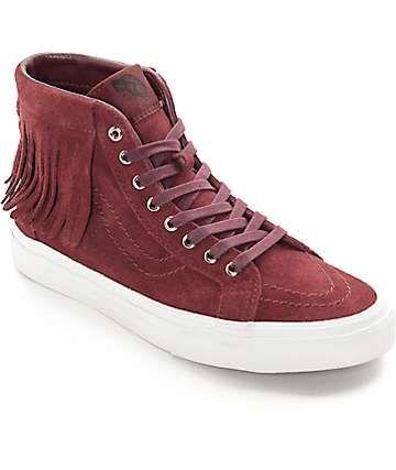 5be3ec43b6 Vans Sk8-Hi Port Royale Moc Shoes (Women s)
