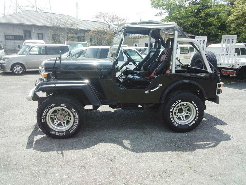Mitsubishi Jeep J53 Willys 2 7 Diesel 4x4 Soft Top On Off Road