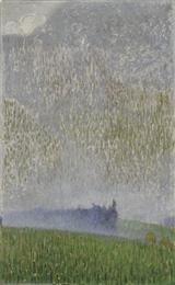 Φιλική Εκτύπωση Παρθένης Κωνσταντίνος (1878/1879 - 1967) Τοπίο, πριν το 1903 Λάδι σε μουσαμά , 74 x 46 εκ. Αρ. έργου: Π.2947