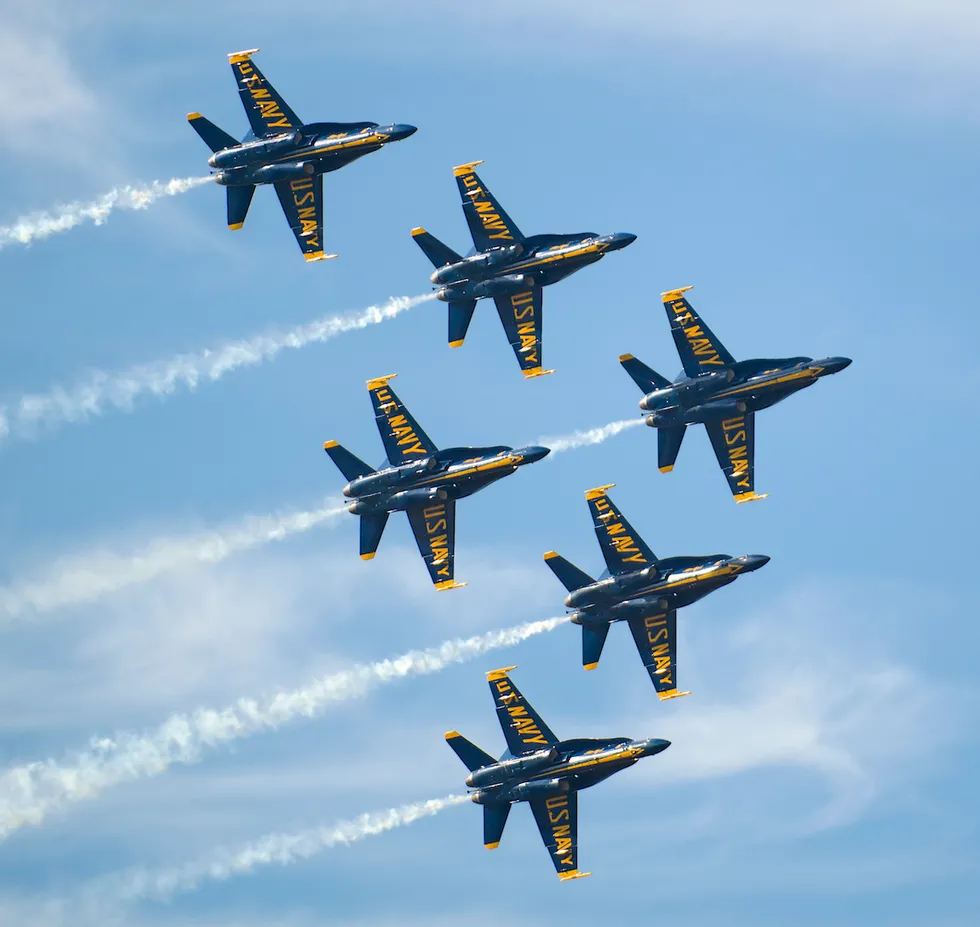 This Blue Angels cockpit video is terrifying and amazing