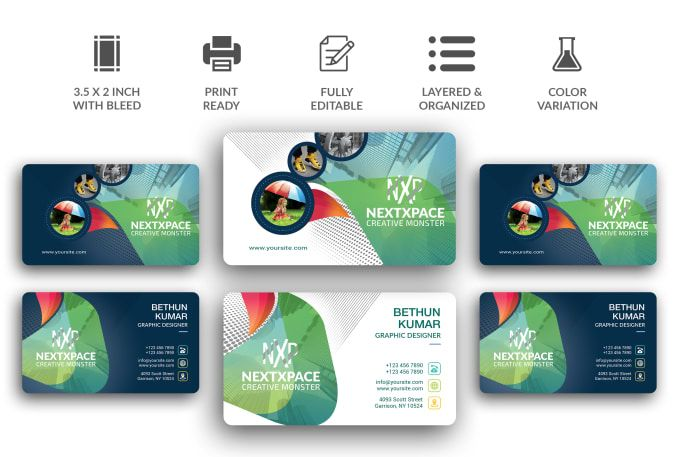 Create Replicate Edit Modify Business Card Design 24 Hr