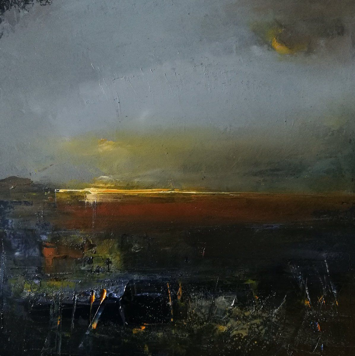 Across the estuary to the sound of a curlew #art #Artworks #contemporarypainting #contemporaryart #originalart #originalartist #originalart @andrewphmusic @grasscutmusic #estuaries #sunsets #oilpainting #painting #coastalpainting #artspic.twitter.com/4Z38tpEQ3O