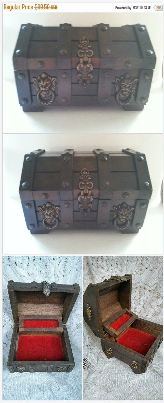 On Sale 1950\'s 1960\'s Vintage Home Decor Collectible Jewelry Box ...