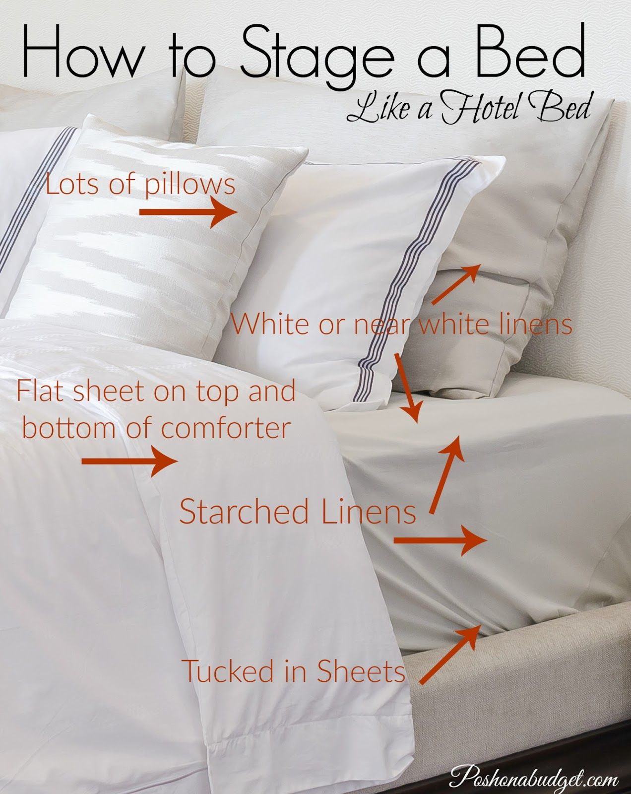 Pin by selling your home on best home staging in bed home