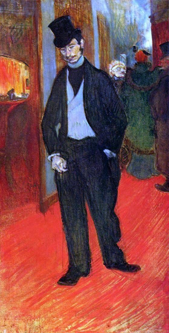 Dr. Gabriel Tapie de Celeyran by Henri De Toulouse-Lautrec - Hand Painted Oil Painting