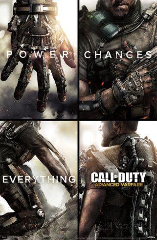 Cod Advanced Warfare Power Prints Video Juego Videojuegos Juegos