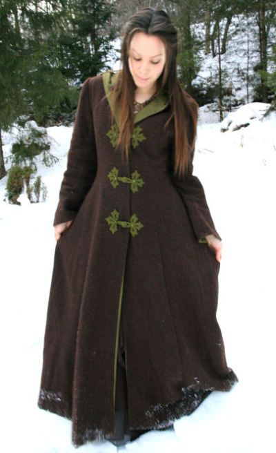 Medieval winter coat