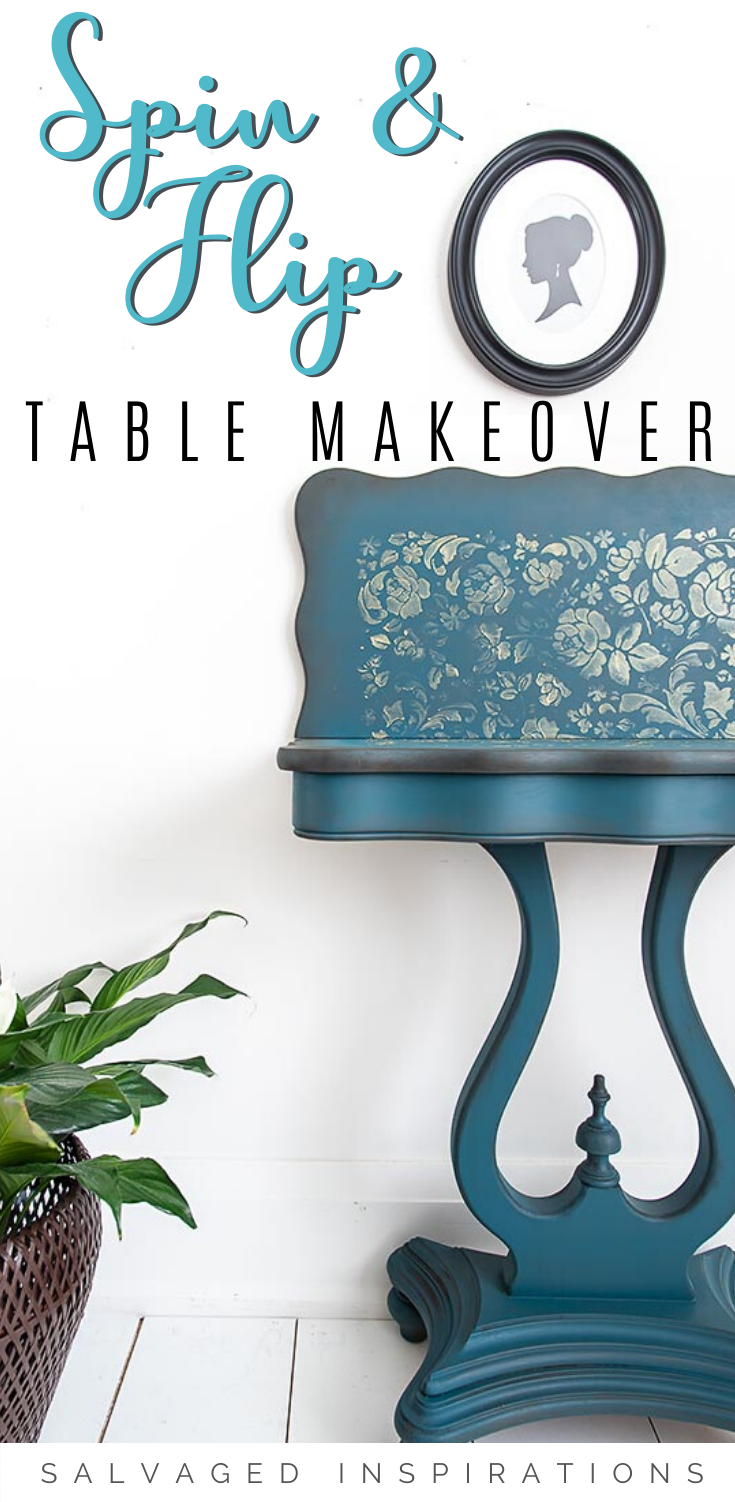 Game Table Makeover | Game Table Furniture Restore | Salvaged Inspirations   #siblog #salvagedinspirations #paintedfurniture #furniturepainting #DIYfurniture #furniturepaintingtutorials #howto #furnitureartist #furnitureflip #salvagedfurniture #furnituremakeover #beforeandafterfurnuture #paintedfurnituredieas #dixiebellepaint #redesignwithprima