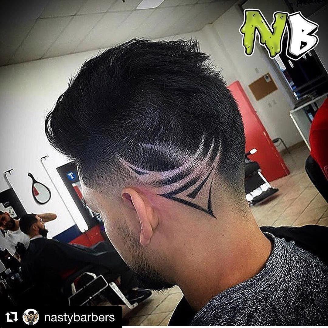Repost Nastybarbers Get Repost Marcusph333 Hair Tattoo Men Haircut Designs Hair Designs For Boys