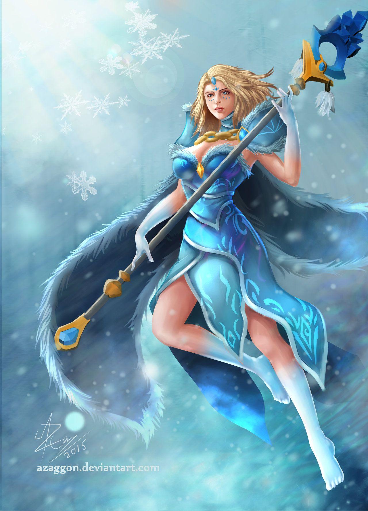 crystal maiden arcana by azaggon deviantart com on deviantart my