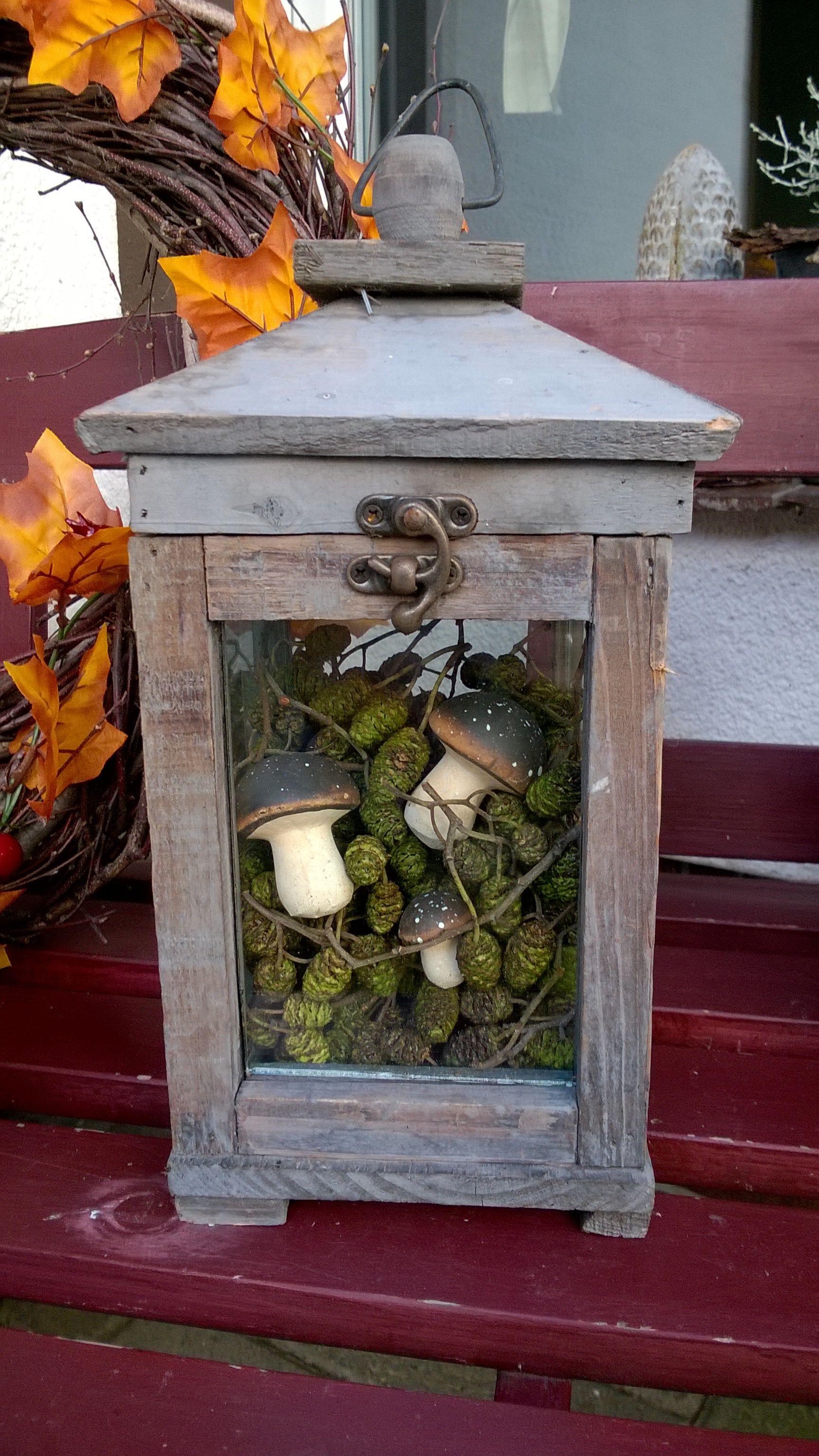 Herbstdeko f r den vorgarten und blumenk sten nat rlich for Herbst dekoration im glas