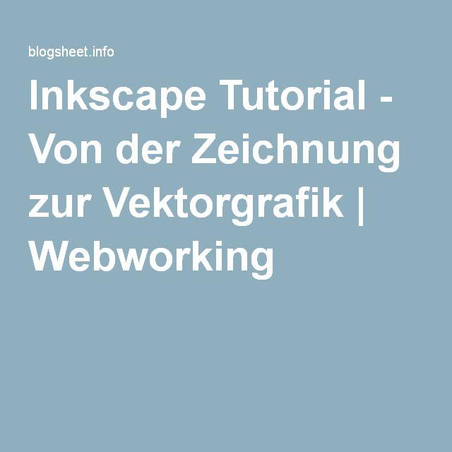 inkscape tutorial von der zeichnung zur vektorgrafik webworking erstellen grafik fisch vektor skyline