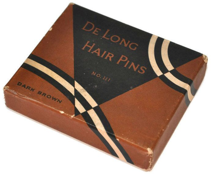 Box of Vintage Rockabilly Hair Pins by North49Vintage on Etsy https://www.etsy.com/listing/228228786/box-of-vintage-rockabilly-hair-pins