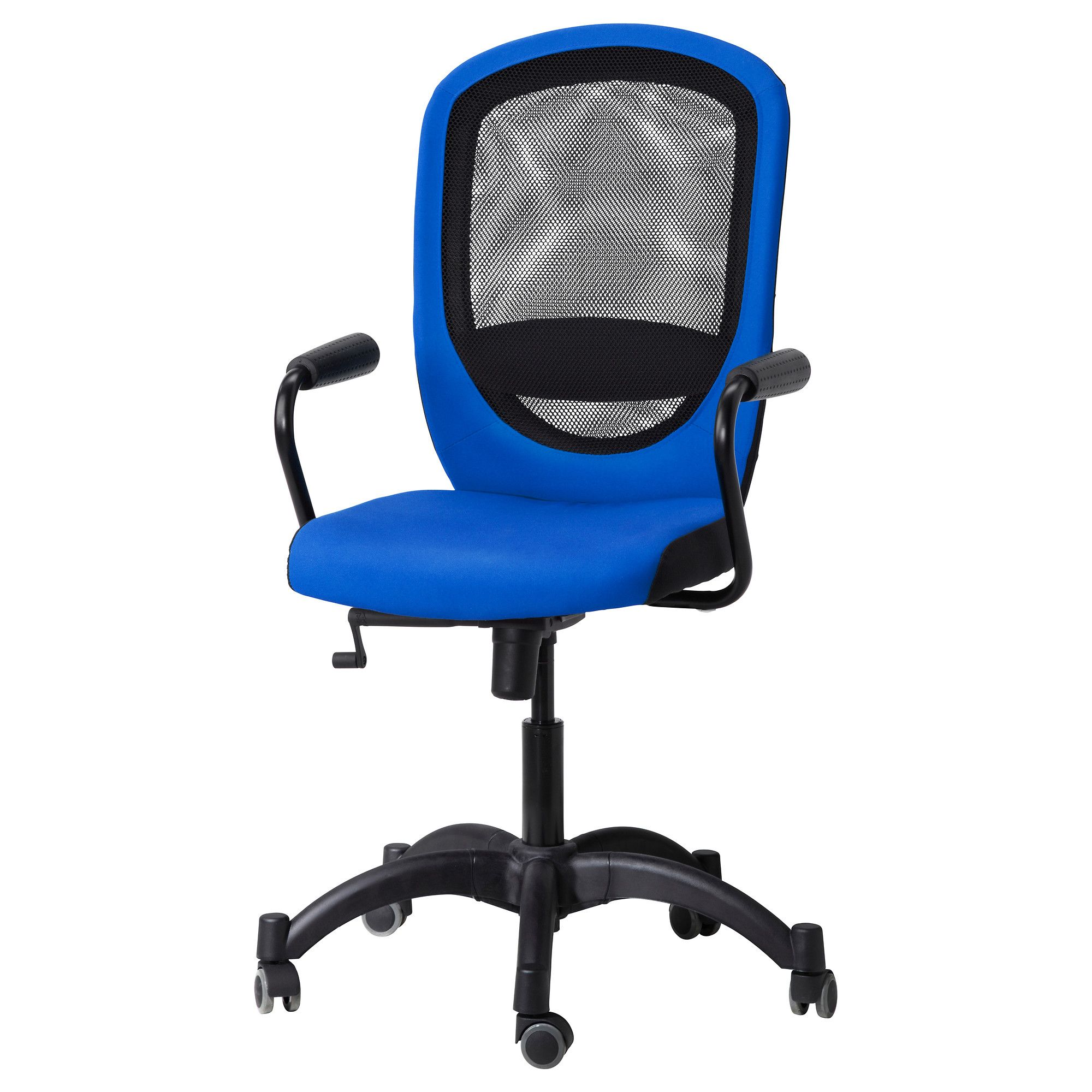 Fingal Swivel Chair Vilgot Nominell Swivel Chair With Armrests Blue Ikea Price