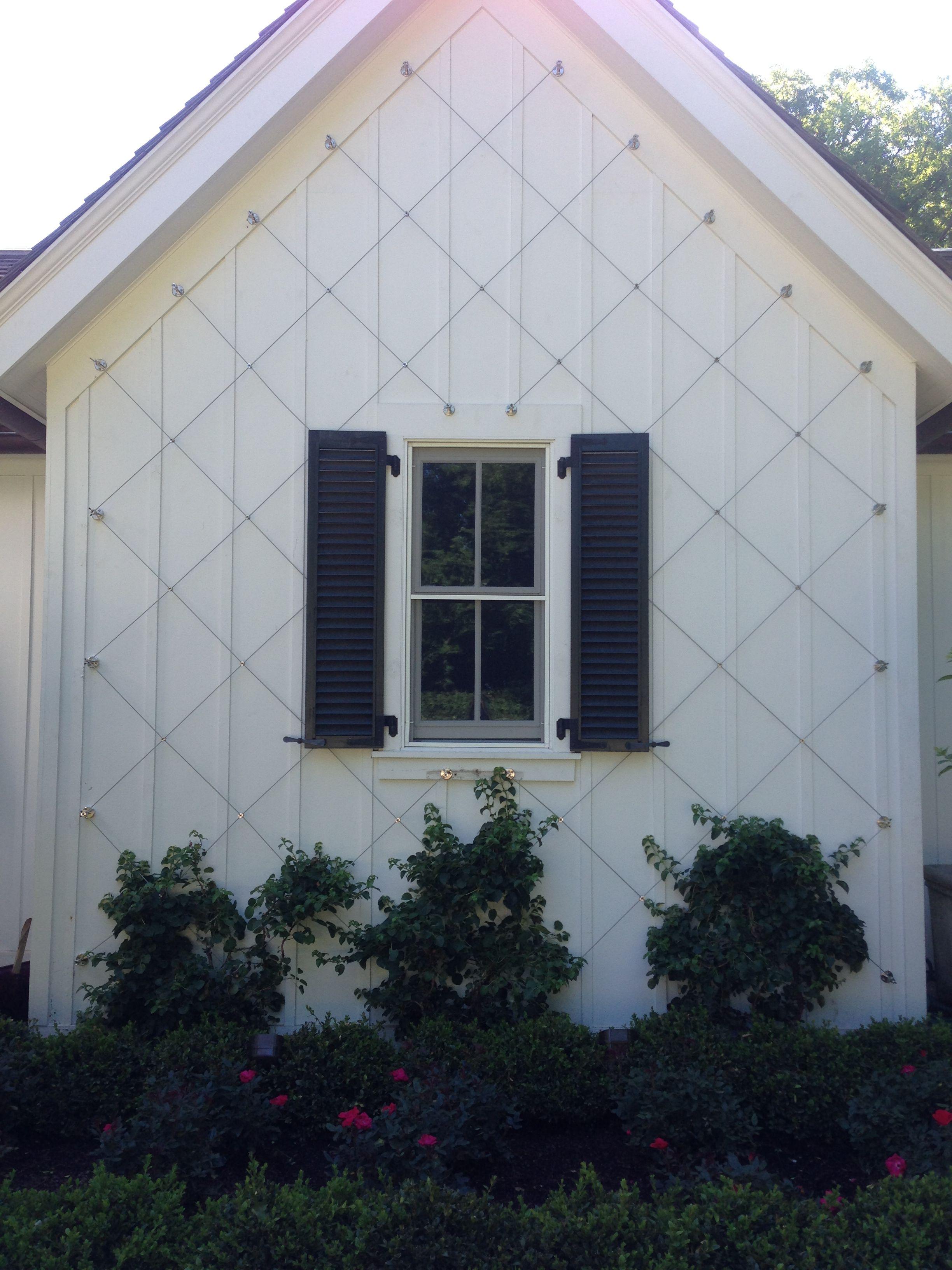 Diamond Pattern Wire Trellis. More Info: http://www.jakob-usa.com ...