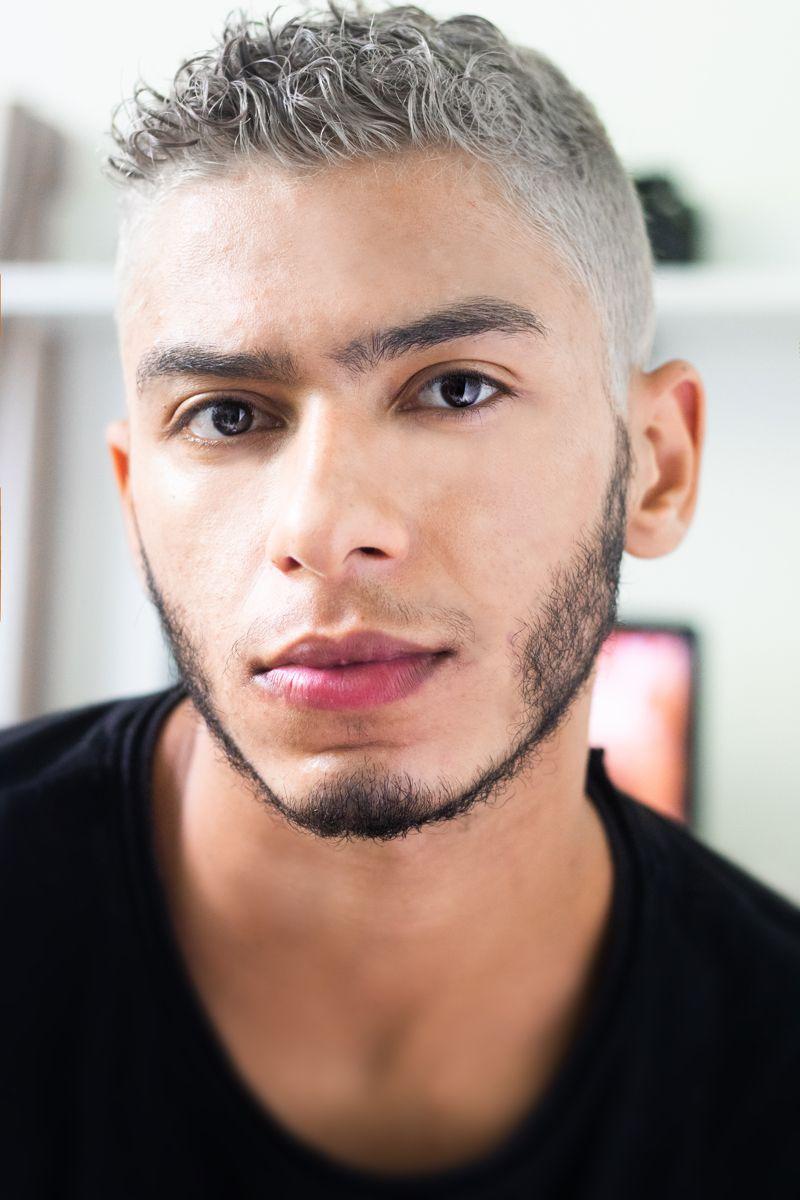 Haarfarbe männer graue Graue Haare