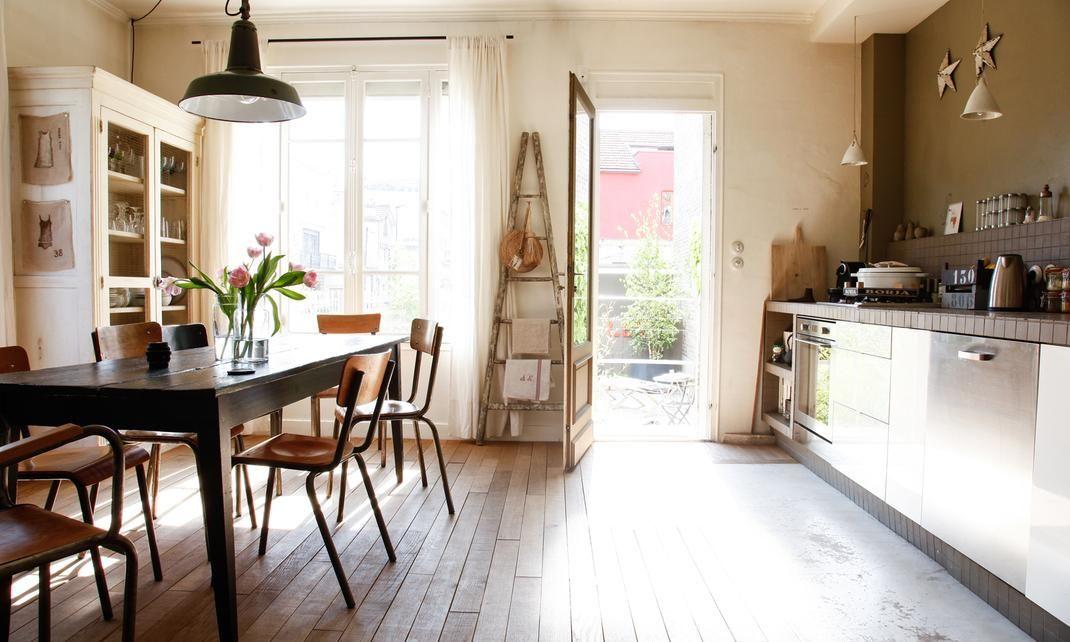 Cuisine ouverte ou fermée Interiors, Kitchens and Dining