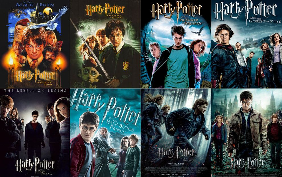 The Harry Potter Film Saw Eight Films Released Over The Course Of A Nearly Decade Long Period Time Flies When You Re Having Magical Fun Here S How Much The Ca Harry Potter Actors