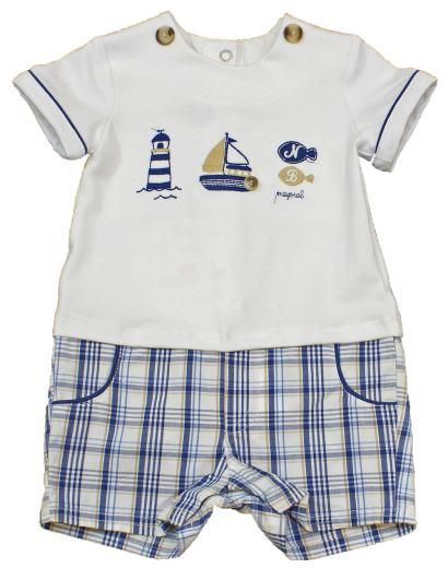 1a4b10864 Mayoral 1621 baby boy shorts romper set - £9.99 - Outfits - BOYS ...