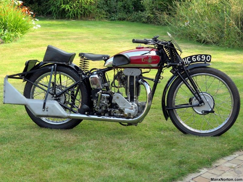 1933 Excelsior C14 Iom Special For 1932 The Excelsior Range Was Headed By The B14 Tt Replicas Which Employed A F Classic Motorcycles Vintage Bikes Racing Bikes