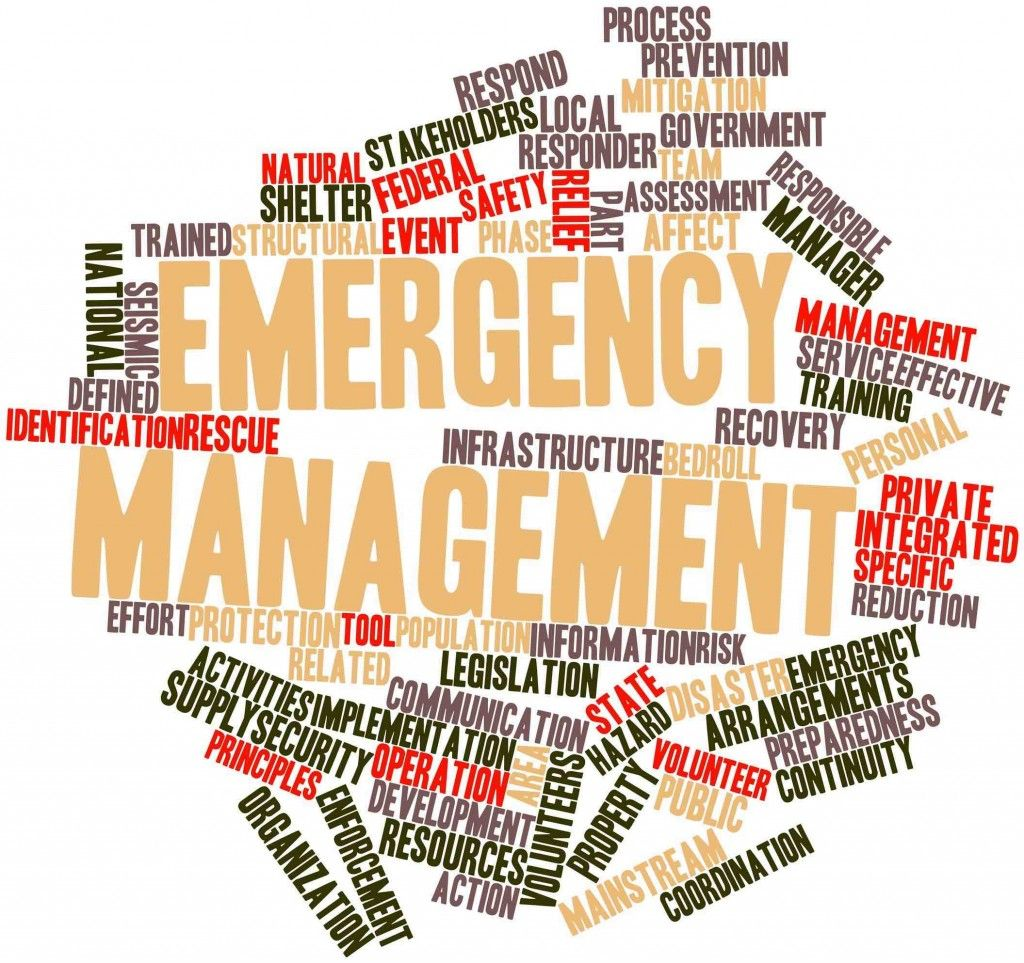 Cyber Security Company Washington Dc Emergency Management Word Cloud Abstract Words